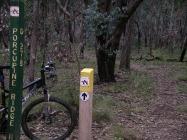 Goldfields Track post
